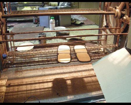 3.高温の乾燥機にかける